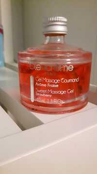 BLANCRÈME - Gel massage gourmand arôme fraise