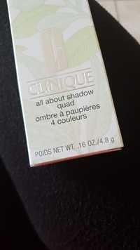 Clinique - Ombre à paupières 4 couleurs