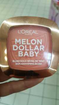 L'ORÉAL PARIS - Melon dollar baby - Blush doux réveil de teint