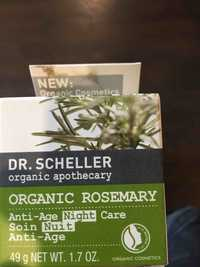 Dr. Scheller - Organic rosemary - Soin nuit anti-age