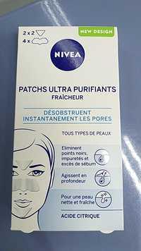 Nivea - Patchs ultra purifiants fraîcheur