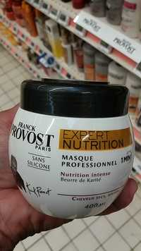 Franck Provost - Expert nutrition - Masque professionnel cheveux secs
