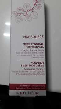CAUDALIE - Vinosource - Crème fondante nourrissante