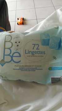 Leader Price - 72 Lingettes pour la toilette de bébé
