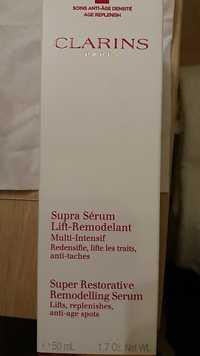 CLARINS - Supra sérum lift-remodelant - Soins anti-âge densité