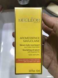Decléor - Aromessence Marjolaine - Sérum-huile nourrissant