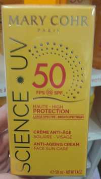 MARY COHR - Science UV - Crème anti-âge solaire spf 50