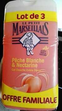 LE PETIT MARSEILLAIS - Pêche Blanche et Nectarine - Gel douche extra doux