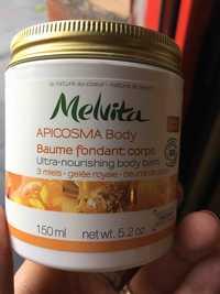 Melvita - Apicosma - Baume fondant corps