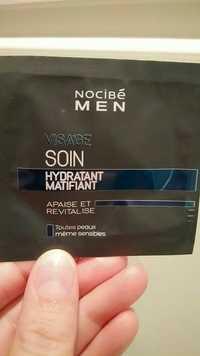 NOCIBÉ - Men - Soin hydratant matifiant visage