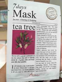 ARIUL - 7 Days masque tea tree