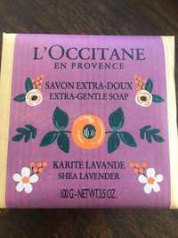 L'OCCITANE - Savon extra-doux