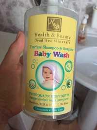 Health and Beauty - baby wash - Tearless shampoo & soapless