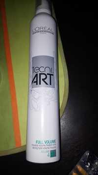 L'ORÉAL - Tecni Art - Mousse volume fixation forte