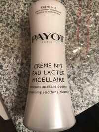 Payot - Crème n° 2 - Eau lactée micellaire