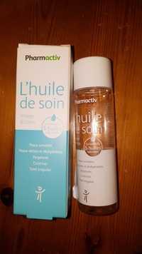 PHARMACTIV - Complexe de 5 huiles naturelles - L'huile de soin visage & corps