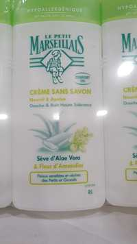 LE PETIT MARSEILLAIS - Crème sans savon - Douche & bain haute tolérance