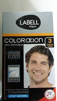 LABELL - Men -Coloration sans ammoniaque 3 châtain foncé