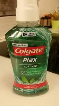 COLGATE - Plax Soft Mint - Bain de bouche zero alcohol