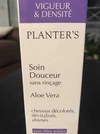 PLANTER'S - Vigueur & densité - Soin douceur aloe vera sans rinçage