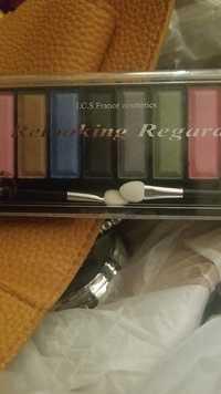 ICS France Cosmetics - Relooking regard - Palettes fards à paupières