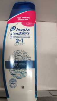 Head & Shoulders - Classic - Shampooing antipelliculaire + soin 2 in 1
