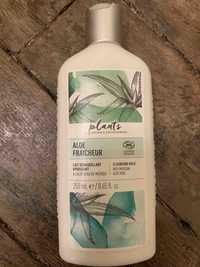 NATURE & DÉCOUVERTES - Plants aloe fraîcheur - Lait démaquillant hydratant