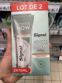 SIGNAL - White now detox - Dentifrice blancheur instantanée