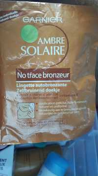 GARNIER - Ambre solaire - Lingette autobronzante