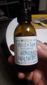 NATURES & DÉCOUVERTES - Arnica & gaulthérie - Huile de soin pour le massage