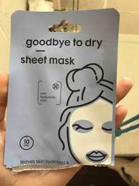 Hema - Goodbye to dry - Sheet mask