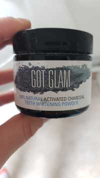Got Glam - Activated charcoal - Teeth whitening powder