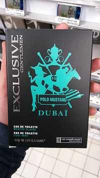 Les Cosmétiques Design Paris - Polo Mustang Dubaï - Eau de toilette
