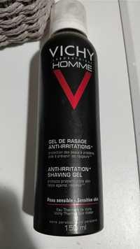 VICHY - Vichy homme - Gel de rasage anti-irritations