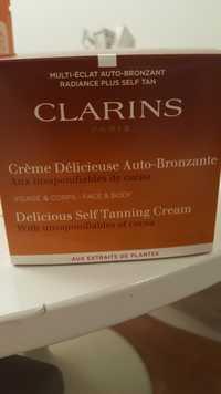 CLARINS - Crème délicieuse auto-bronzante aux insaponifiables de cacao