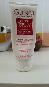 Guinot - Crème Nutrition Confort - Crème visage peaux sèches