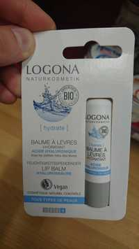 Logona - Baume à lèvres - hydratant