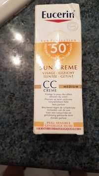 Eucerin - Sun crème - Visage teintée - Cc crème medium - SPF 50+