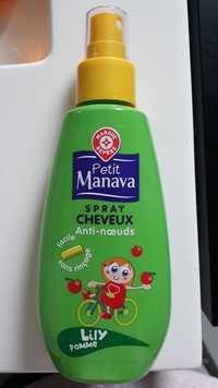 Marque Repère - Petit Manava - Spray cheveux anti-noeuds