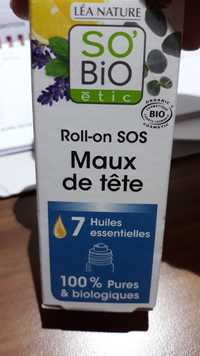 SO'BIO ÉTIC - Roll-on SOS - 7 huiles essetielles