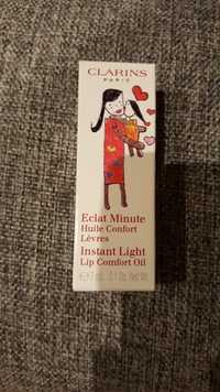 Clarins - Eclat Minute - Huile confort lèvres