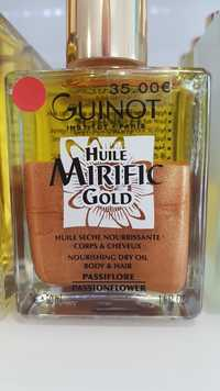 Guinot - Huile mirific gold - Huile sèche nourrissante