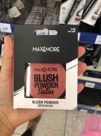 Max & More - Blush powder satin 110 Pink sand