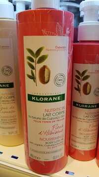 KLORANE - Nutrition - Lait corps