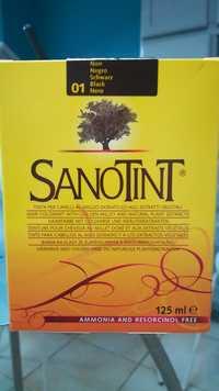 SANOTINT - 01 Noir - Teinture pour cheveux au millet doré et aux extraits végétaux