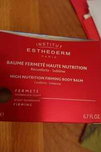 INSTITUT ESTHEDERM - Baume fermeté haute nutrition