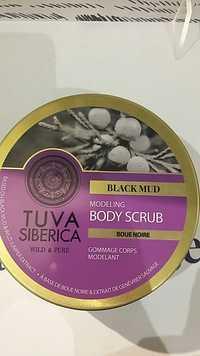 TUVA SIBERICA - Boue noire - Gommage corps modelant