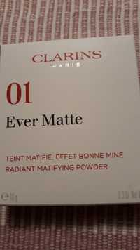 Clarins - Ever matte 01 - Poudre compact