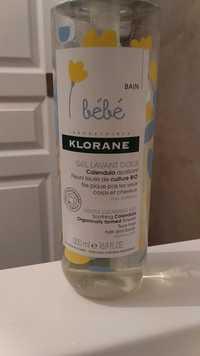 KLORANE - Bébé - Gel lavant doux
