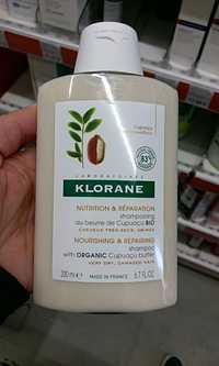 KLORANE - Nutrition & Réparation - Shampooing